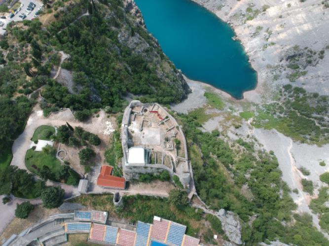 Belső Dalmácia ékköve: A Topana erőd Imtoskiban