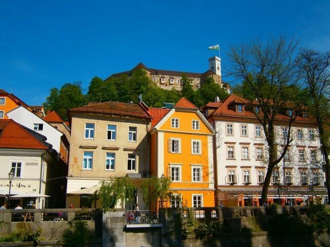 Ljubljana emblematikus épülete – A ljubljanai vár