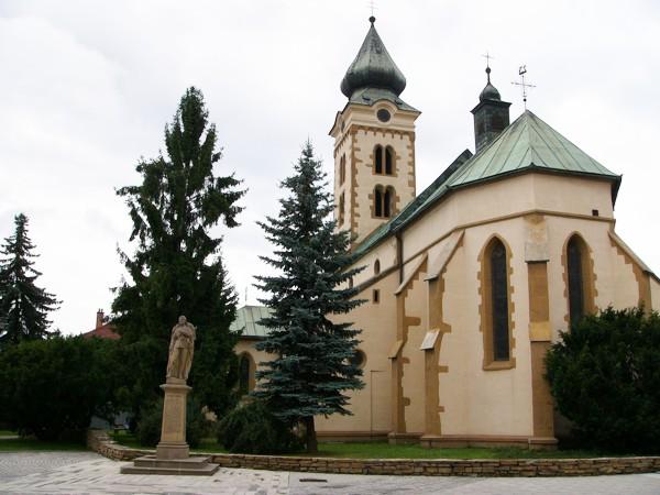 Liptószentmiklós Templom