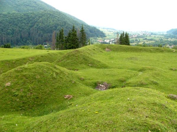 A Bodzai-szoros újkori erődítései
