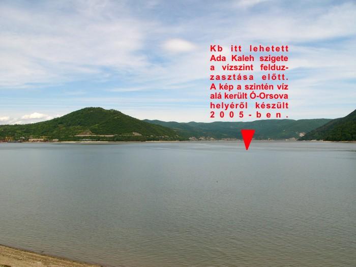 Új-Orsova, Ada-Kaleh erőd