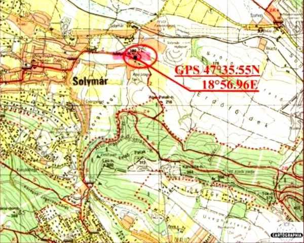 solymár térkép Solymár   Szarkavár