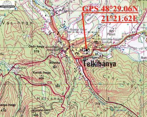 telkibánya és környéke térkép Telkibánya   Vár