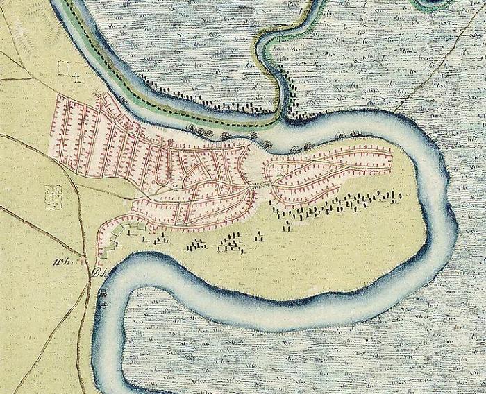 Árpád-kori vár, Török palánk