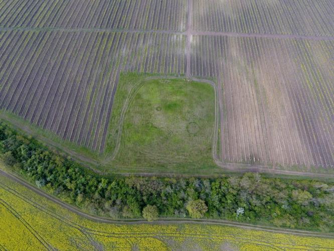 Földvárak légi fotózása