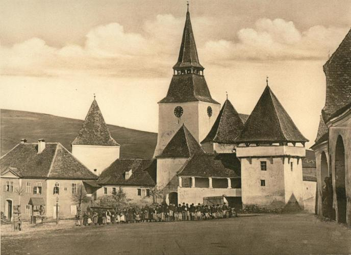 Erked templomvára