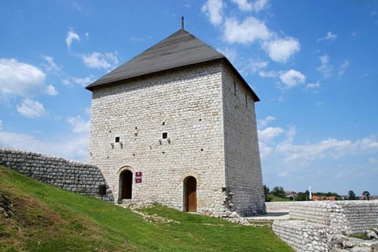 Tesanj vára Boszniában