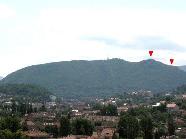 Brassovia vár, Cenk-hegy