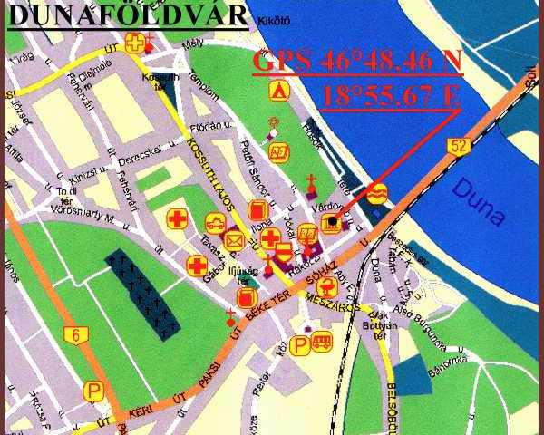 dunaföldvár térkép Dunaföldvár   vár, kuruc kori sánc dunaföldvár térkép