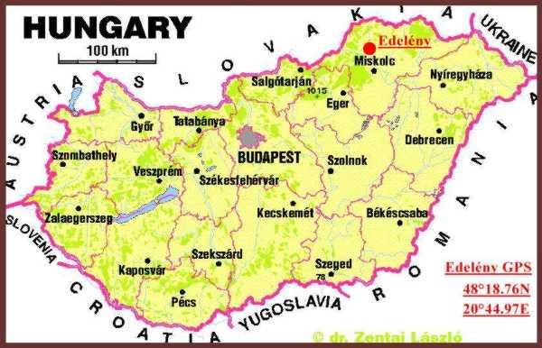 edelény térkép Edelény   Borsod vára edelény térkép