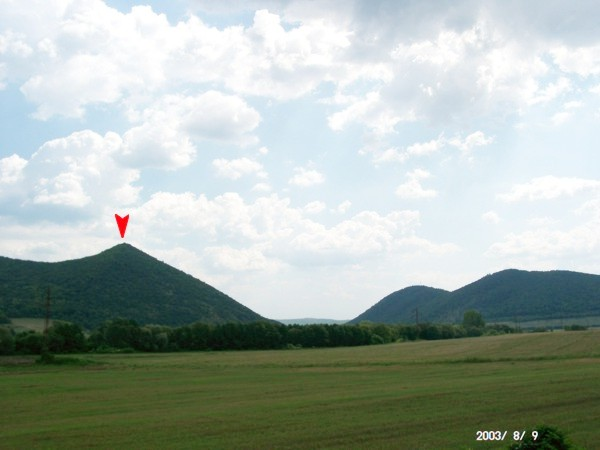 Oldal-hegy, Stráň