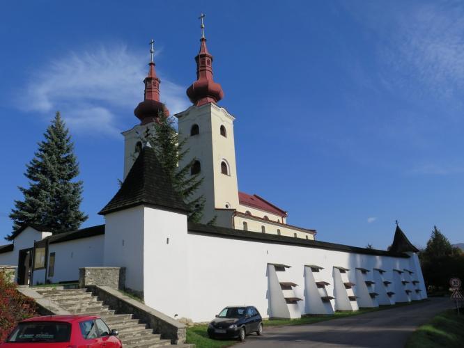 Erődített templom