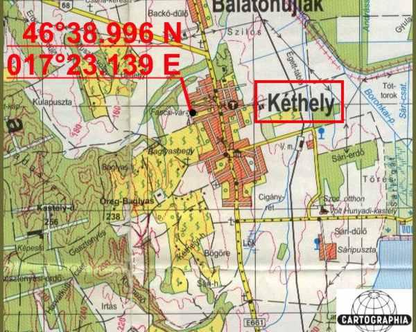 kéthely térkép Kéthely   Fancsika kéthely térkép