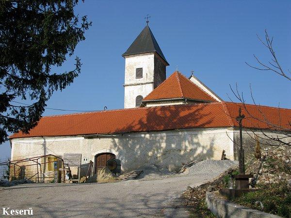 gorszkai Istenanya temploma, Gradina