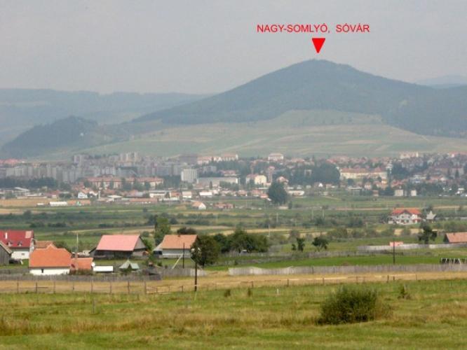 Nagy-Somlyó hegy, Sóvár