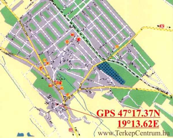 ócsa térkép Ócsa   templom ócsa térkép