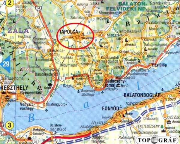 balaton tapolca térkép Tapolca   Vár balaton tapolca térkép