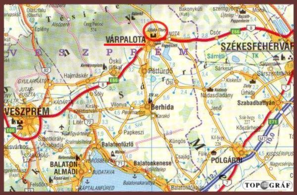 várpalota térkép Várpalota   Thury vár várpalota térkép